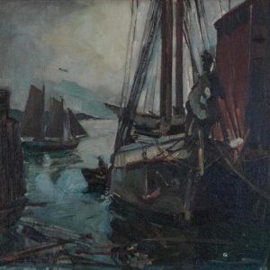 Dockside, William Lester Stevens