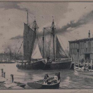 Gloucester Wharves, Gordon Grant