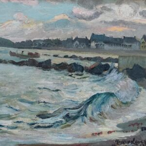Breakers Along The Shore, Hayley Lever