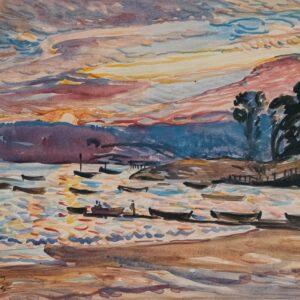 Sunset, Niles Beach, Haley Lever