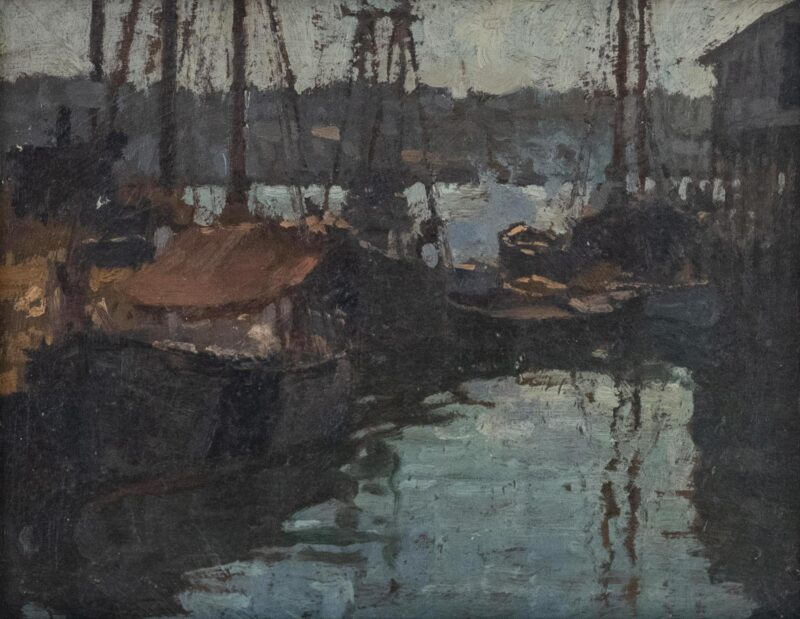 Gloucester HArbor, Frederick Mulhaupt